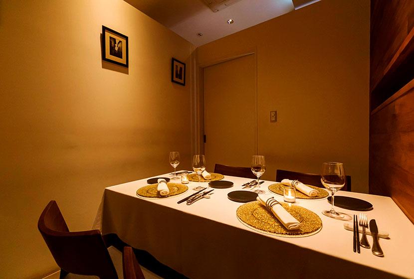 イタリア料理 虎ノ門「タニーチャ」の4名様までの個室