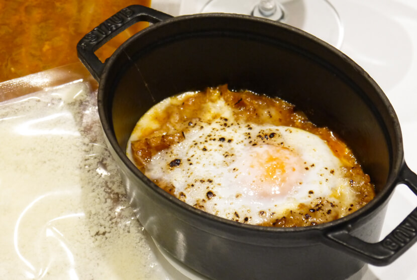 タニーチャ特製「トリッパのトマト煮込み」